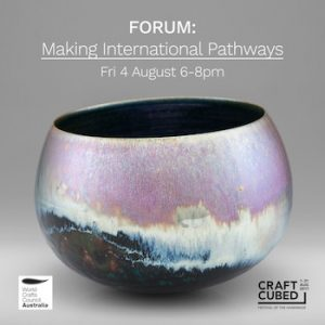 Slow Clay Centre Forum Making International Pathways
