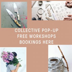 COLLECTIVE x SLOW CLAY free workshops!