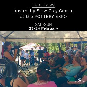 TENT TALKS @The Pottery Expo!