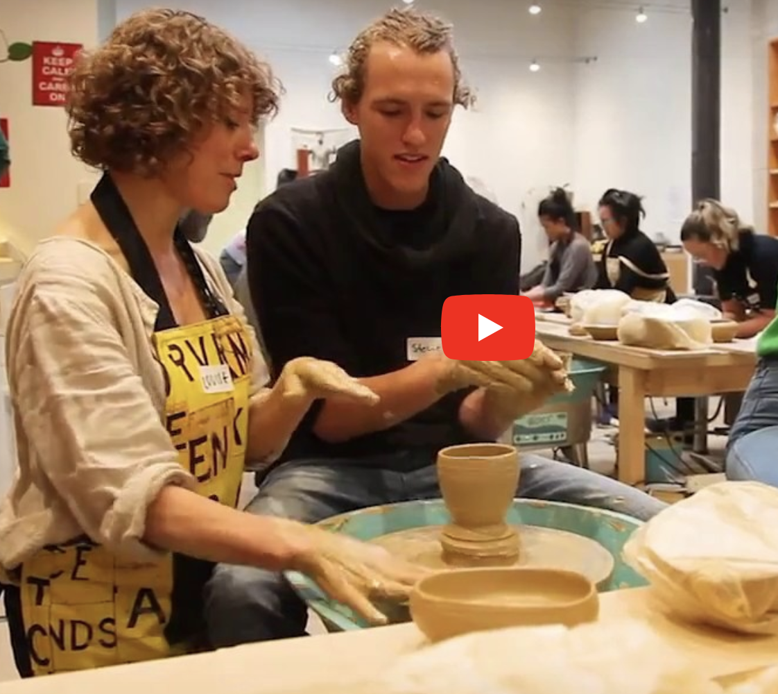 Throw clay like a master potter with Slow Clay Centre and WeTeachMe