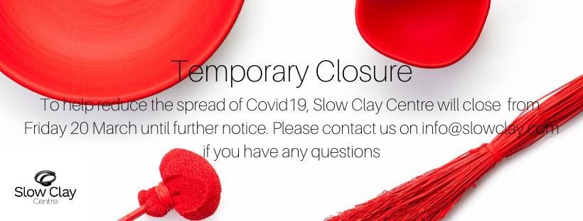Update: Temporary Studio Closure